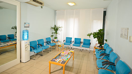Sala d'attesa di Ferrara