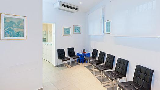 Sala d'attesa di Codigoro